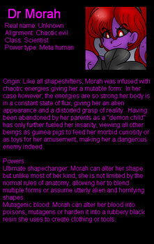 Dr Morah bio and interview by LordTHawkeye