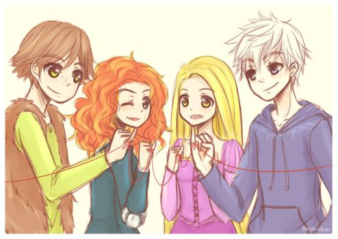 The big 4 by Nerah-chan