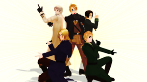 Group Pose dl by Retroix