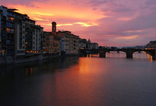 Autumn in Florence by Amersill