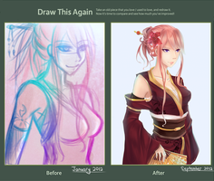 Draw This Again Contest: Cool Pink by Hiyyee
