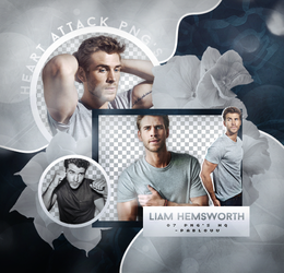 +Liam Hemsworth|Pack Png. by Heart-Attack-Png