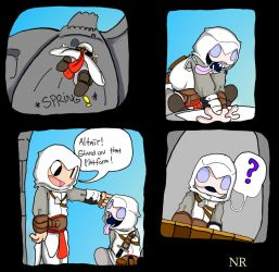 Nightmare Assassin's Creed P43 by MilkToothCuts