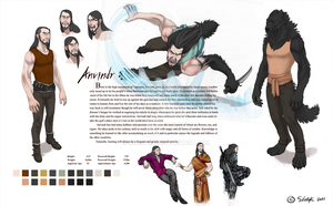 Anvindr Reference Sheet by Sarspax