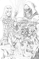Masters of the Universe by seanforney