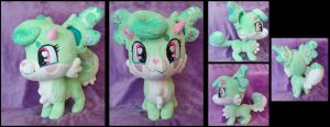 Gadget the Luumie Plushie :Commission: by AppleDew