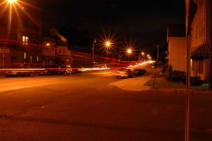 Wood ave long exp truck lights by PaulRokicki
