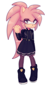 Amy Rose in Versace by Maikyodel