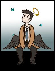 Cas Swinging gif by Roux707