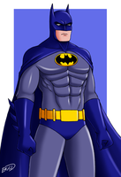Batman: A Watchful Protector by XenonVincentLegend