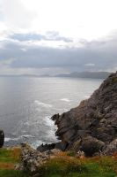 Cliffs and Cloudy Skies by Aestera