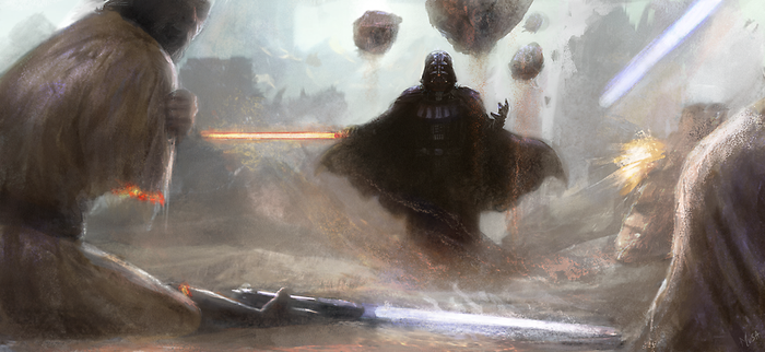 Darth vader by musane