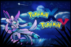 Pokemon X and Y - Sylveon Wallpaper by SoSaucy