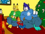 As we dream by the fire. by MattMacroPika