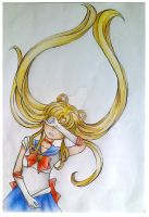 Usagi Tsukino (Sailor Moon) by scarletart99