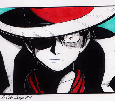 Luffy's Rage by Fires-storm