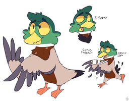 Ducky Doodles by BasicButters