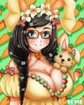 Anime Self Portrait - Happy Easter Bunny Edition by seviesphere