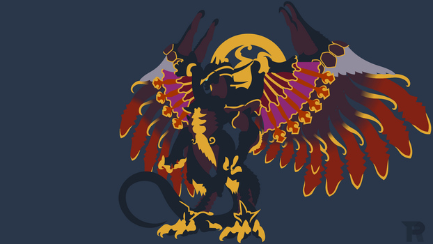 [Request] Bahamut Minimalist by turpinator77