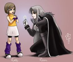 Brother and Sister by Arc-Ecclesia