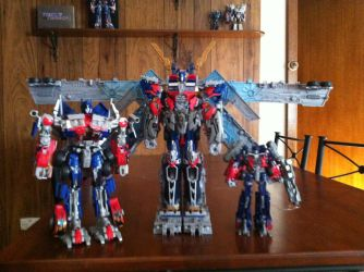 DOTM Ultimate Optimus Prime by Ryssa-Aquicoine