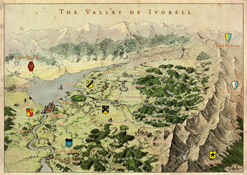 Valley of Ivorell (remake) by Brian-van-Hunsel