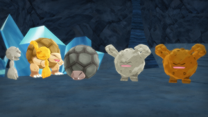 MMD PK Geodude, Graveler, and Golem DL by 2234083174