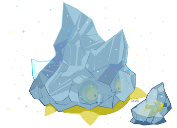 Shiny Bergmite by Willow-Pendragon