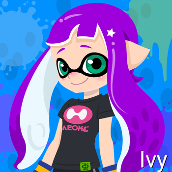 Ivy (14 Years Old, Inkling Form) by Brightsworth-Heroes