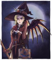 Halloween Mercy by peyoberry