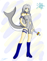 Mew Mew Umi :quick color: by BklynSharkExpert