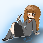 Hermoine Secret Santa by WickedTsune