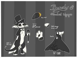 [OUTDATED] bendy reference - september 2017 by Cardicle