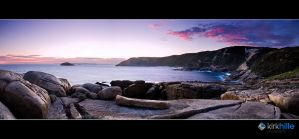 South West Coast Line Sunset by Furiousxr