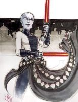 Asajj Ventress Heroes Con 2015 by ComfortLove