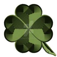 Rope 4 leaf clover by KenshinKyo