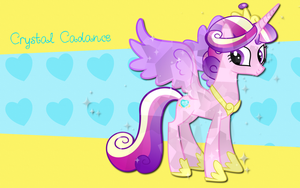 Crystal Cadance WP by AliceHumanSacrifice0