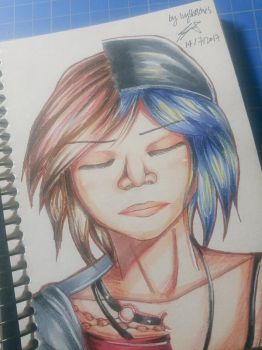 Chloe Price copic practice by ppeach444