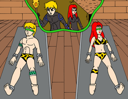 Trapped in Questworld by Streetgals9000 by KallyToonsStudios