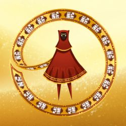 Journey Pin - Red Cloak by CaptainMoony