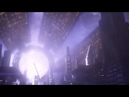 Citadel Approach Mass Effect 3 by Andy1979