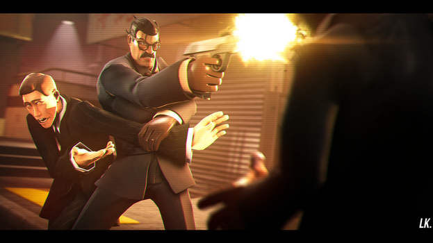 [SFM] Agent Gunn. by LtLordKnight