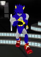 Metal Sonic 1 by dragonzero1980