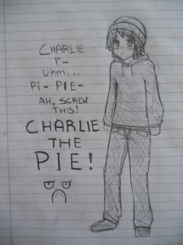 Charlie the PIE by CoppuCaykee