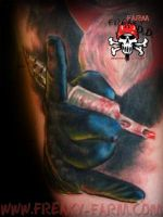 devils right hand by D-D-Tattoo