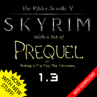 Prequel, the Skyrim mod by AMKitsune
