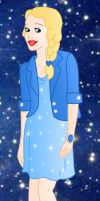 Modern princess: Blue fairy by Willemijn1991