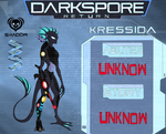 Darkspore Return - Kressida concept-art by AlienGryphon