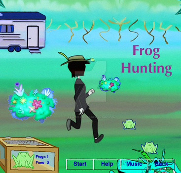 GAME Frog Hunting by PaintFeathers