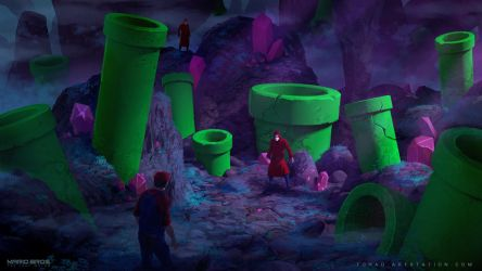 Mario Bros : The Lost World by Tohad